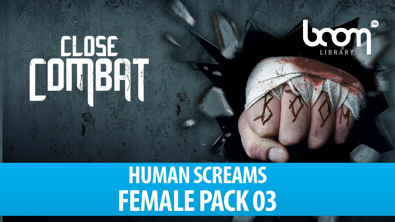 Human Screams - Female Pack 03